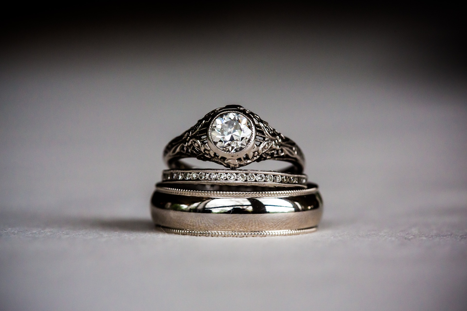 engage marriage rings
